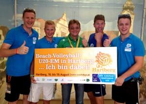 v.l. Martin Postl, Kevin Loigge, Hannes Jagerhofer, Markus Schloffer, Max Thaller